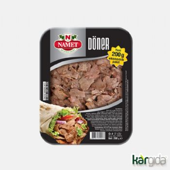 Beef Cooked Ground Meat Döner 200 gr