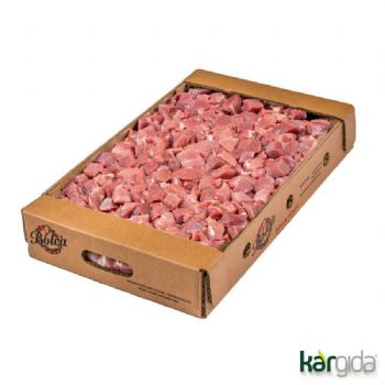 TUREY CUBE SLICED THIGH MARINATED BULK